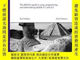 二手書博民逛書店Mysql罕見(3rd Edition) (developer s Library)Y256260 Paul