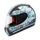 【東門城】ZEUS ZS2000C F60 (消光黑藍) 全罩式安全帽 小帽體