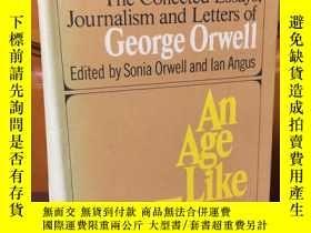 二手書博民逛書店The罕見collected essays, journalism and letters of George O
