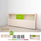 【本木】華城 床邊收納櫃紅#28