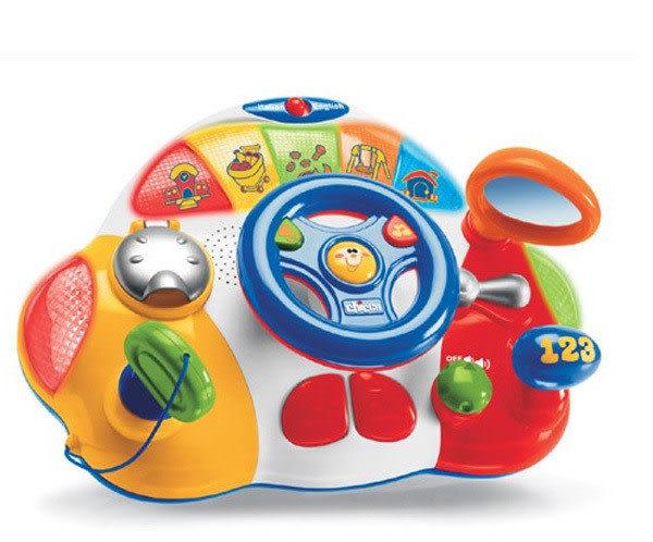 【奇買親子購物網】Chicco歡樂學習方向盤