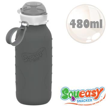 美國Squeasy QQ隨身瓶-480ml 灰