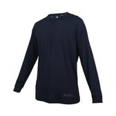 FIRESTAR 男彈性圓領長袖T恤(反光 涼感 運動 上衣 慢跑 路跑≡體院≡ D0605-93