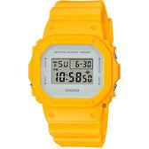 CASIO 卡西歐 G-SHOCK DW-5600 經典電子錶-黃 DW-5600CU-9 / DW-5600CU-9DR