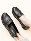 平底單鞋媽媽鞋春秋真皮軟底舒適單鞋中老年女鞋中年老人皮鞋防滑平底奶奶特賣