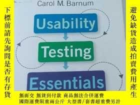 二手書博民逛書店Usability罕見Testing Essentials: R