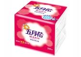 【箱購更划算】五月花 輕柔系列 單抽式雙層衛生紙 250抽*48包