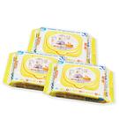PiYo黃色小鴨-EDI超純水嬰兒柔濕巾超厚80抽(80抽*3入)[衛立兒生活館]