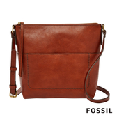 FOSSIL AMELIA 真皮瘦瘦水桶包-咖啡色 SHB2085213