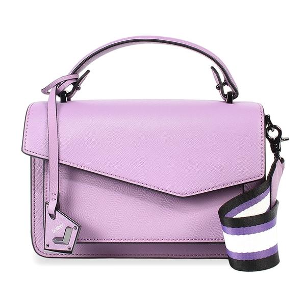 Botkier防刮皮革手提/斜背兩用風琴包(淺紫色)260001-6