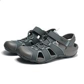 TEVA 涼鞋 FLINTWOOD 灰 抽繩 護趾 快扣 冒險者 男 (布魯克林) TV1118941GREY