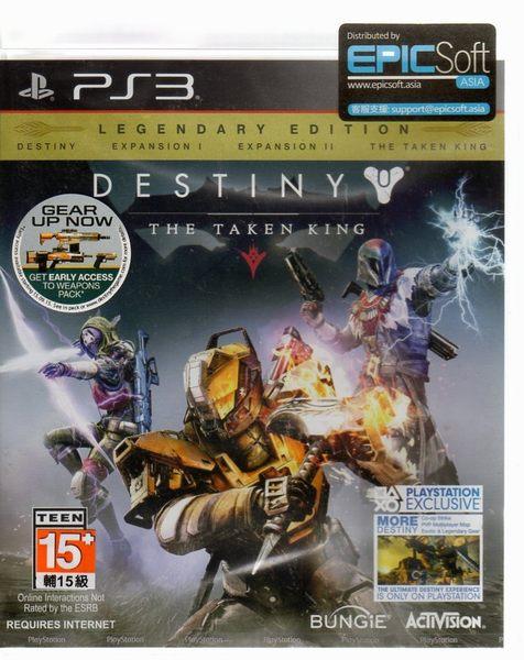 現貨中 PS3遊戲 天命 復仇之王 Destiny 英文亞版 【玩樂小熊】