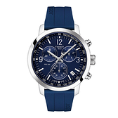 ◆TISSOT◆PRC200 系列 三眼計時石英錶T114.417.17.047.00 藍面膠帶