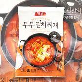 韓國 DONGWON 豆腐泡菜 即時鍋料理包 480g【櫻桃飾品】【27996】