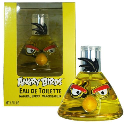 Angry Birds Yellow Bird 衝刺鳥淡香水 50ml【七三七香水精品坊】