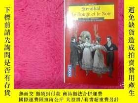 二手書博民逛書店Stendhal罕見Le Rouge et le NoirY22725 出版1998