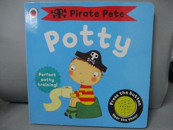 【書寶二手書T1/少年童書_ICE】Pirate Pete s Potty_Ladybird, Andrea Pinnington