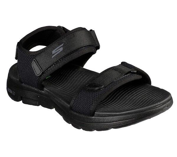 Skechers On-the-go Go Walk 5 [229003BBK] 男鞋 運動 涼鞋 拖鞋 夏天 穿搭 黑