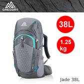 【速捷戶外】美國GREGORY 111573 女款 Jade 38 輕量網架式健行登山背包(優雅灰)  ,2019新款