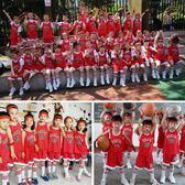 夏季兒童籃球服套裝男女童寶寶幼兒園六一表演服