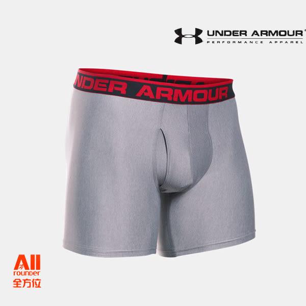 【Under Armour 安德瑪】男士 6英寸Boxerjock內褲 - 灰色(1277238025)全方位跑步概念館