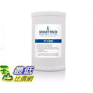 [107美國直購] 濾芯 iFilters CB8 適用於安麗 Amway E-84, E-85, A101, E-9225 Compatible Water Filter _TC1