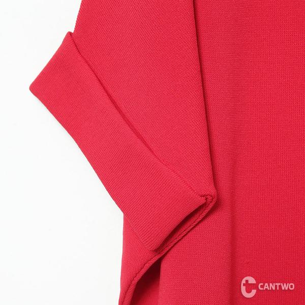 CANTWO簡約船型領H-Line針織上衣-共三色
