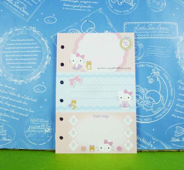 【震撼精品百貨】Hello Kitty 凱蒂貓~補充內頁~三切蝴蝶結【共1款】