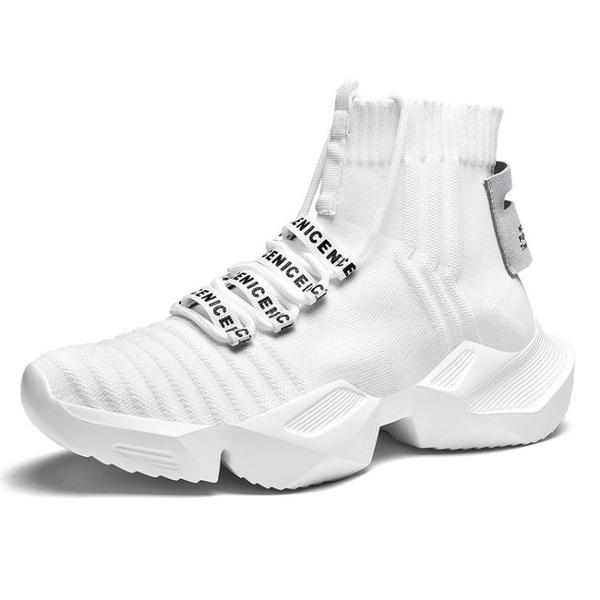內增高男鞋10CM網面運動鞋 男士增高鞋6cm透氣休閒鞋增高板鞋