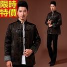 唐裝西裝外套中式男裝(單上衣)-加厚保暖透氣中國風復古中山裝2色66ac30【時尚巴黎】