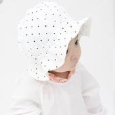 韓國進口嬰兒帽子春秋純棉遮陽帽男女寶寶大檐帽新生兒漁夫帽盆帽