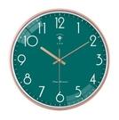客廳時鐘 北極星掛鐘客廳鐘表簡約輕奢家用時鐘北歐現代個性創意石英鐘【快速出貨八折搶購】