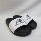 New Balance 韓國海綿運動拖鞋 拖涼鞋 SD1101HWB 男女款 黑白【iSport愛運動】