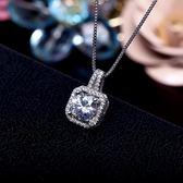 韓國s925純銀項鍊女簡約短款鎖骨鍊頸帶