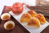 雪花齋 -蒜蓉餅(柴梳餅,蒜蓉酥)10入-台中伴手禮-節慶禮盒