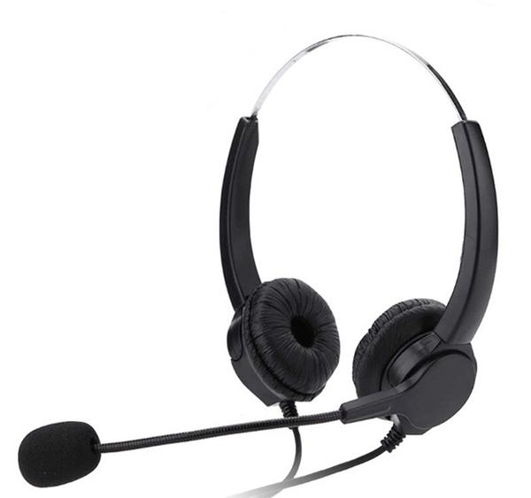瑞通電話RS8012專用雙耳電話耳機麥克風 推薦辦公室 總機 行銷 外商 銀行 客服中心 公家機關必買