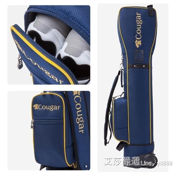 快速出貨 高爾夫球包 多功能航空包托運包 高爾夫球袋 帶滑輪球桿袋 【全館免運】