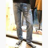 Levis 男款 上寬下窄 / 502 Taper牛仔長褲 / 復古洗色 / 彈性布料