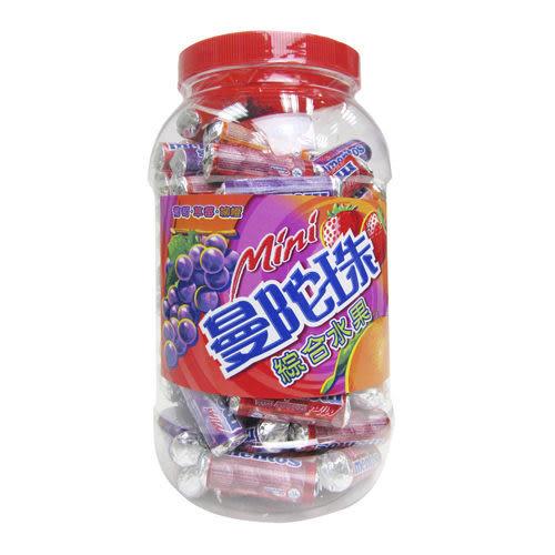 曼陀珠 迷你曼陀珠綜合水果口味10g (100入 / 桶)【合迷雅好物超級商城】