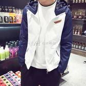 男外套  時尚韓版休閒風衣外套潮流青少年薄款原宿夾克男  瑪奇哈朵