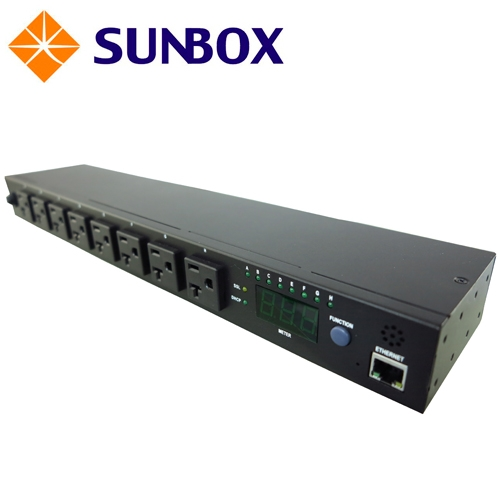8孔15安培 IP遠控開關 PDU (SPI-1511-08M1) SUNBOX