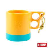 CHUMS 日本 露營野餐 保溫保冷馬克杯 黃/藍綠 ( 250ml) CH6201495117