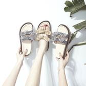 拖鞋女夏外穿2020新款時尚懶人女士百搭巴厘島沙灘網紅厚底涼拖鞋