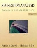 二手書博民逛書店《Regression Analysis: Concepts and Applications》 R2Y ISBN:0534198694