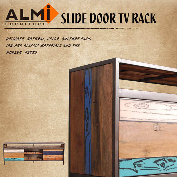 【ALMI】RECYCLED-SLIDING DOOR 滑門電視櫃