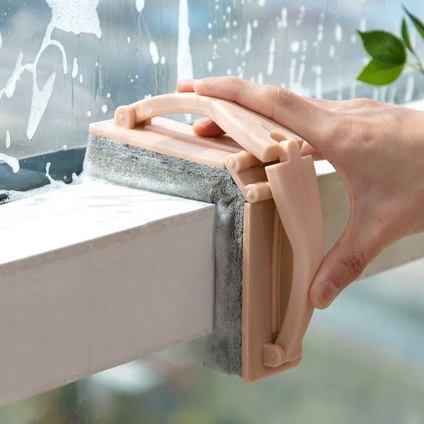 【TT】帶手柄折疊浴室海綿擦浴缸刷 強力去汙瓷磚清潔刷海綿刷子
