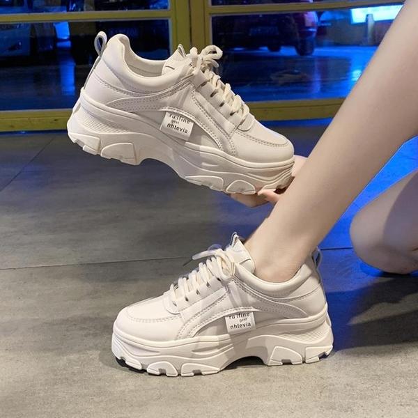 老爹鞋子女2021年新款秋季加絨秋冬爆款棉鞋運動小白鞋ins百搭潮 3C數位百貨