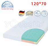 德國 Julius Zoellner 3 Air 嬰兒床墊120x70cm -送 澳洲NVEY嬰兒沐浴乳250ml+天絲床包x1