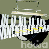 howa 豪華樂器 GS-3201 鋁製32音鐵琴 / 組