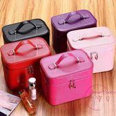 韓版小號化妝包大容量女士旅行化妝品收納箱防水洗漱用品居家收納